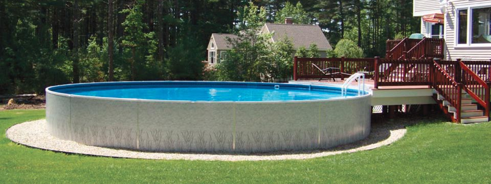 Alpine Pools Western Pennsylvania 39 S Pool And Spa Dealer 24 Round Aboveground Pool Installed