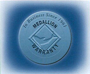 Medallion Extended Warranty Features