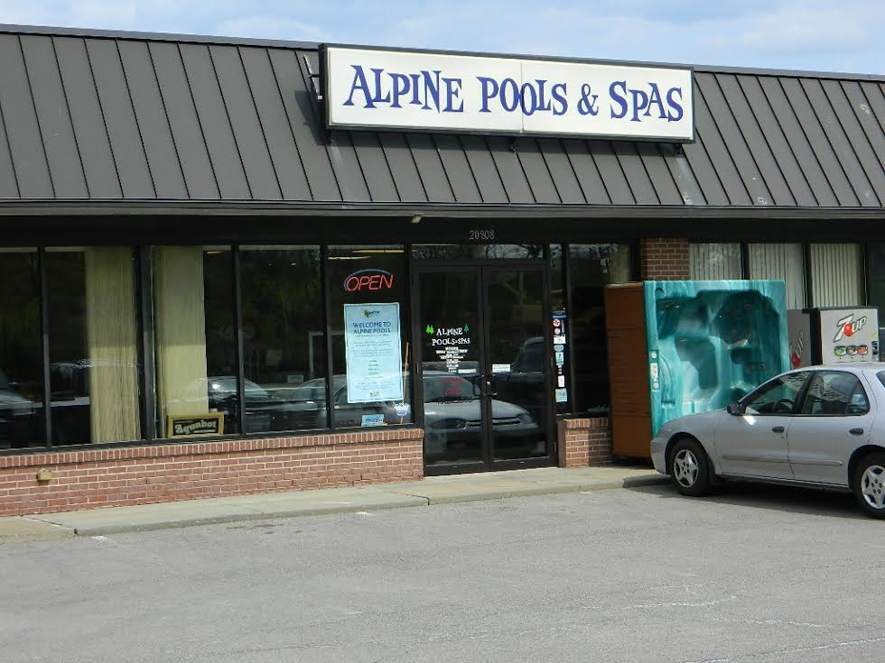 Alpine Pools Cranberry Township Store